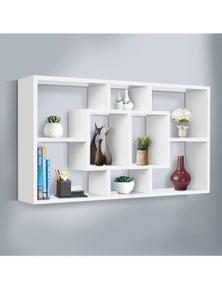 Artiss Floating Wall Shelf DIY Mount Storage Bookshelf Display Rack White