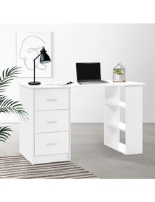 Artiss Office Computer Desk - 3 Drawers Shelf 120cm