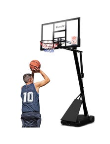 Everfit 3.05M Pro Portable Basketball System Basketball Hoop Stand Adjustable Height