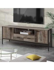 Artiss 160cm Rustic TV Cabinet Entertainment Unit
