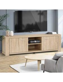 Artiss TV Cabinet Entertainment Unit TV Stand Display Shelf Storage Cabinet Wooden