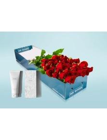 Mr Roses 12 Long Red Roses & Hand Cream
