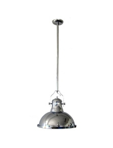 Ivory & Deene Amani Pendant Light - Chrome