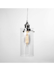 Ivory & Deene Allira Glass Pendant Light