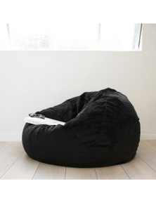 Ivory & Deene Pierre Fur Bean Bag