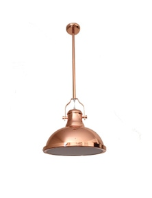 Ivory & Deene Amani Pendant Light - Copper