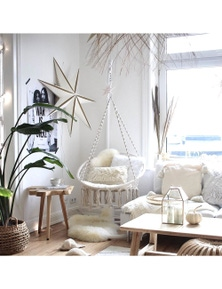 Ivory & Deene Madrid Macrame Chair Swing