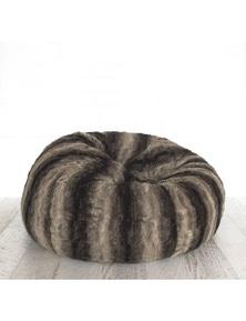 Ivory & Deene Lush Fur Bean Bag