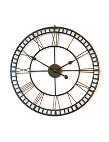 Ivory & Deene Wall Clock - Hampton