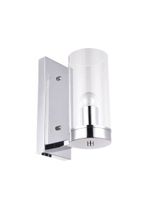 Ivory & Deene Camden Pendant Wall Light - Chrome