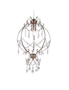 Ivory & Deene Cinderella Chandelier - Gold