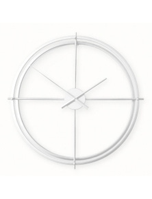 Ivory & Deene Metal Wall Clock - Lincoln