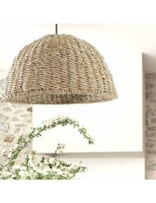 Ivory & Deene The Villa Seagrass Rope Pendant Light