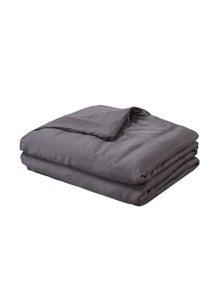 DreamZ Single Dark Grey Weighted Blanket