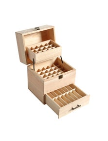 59 Slots Essential Oil Wooden Box Aromatherapy Organiser
