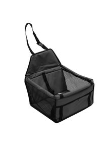 PaWz Pet Car Booster Seat with Built In Safety Strap