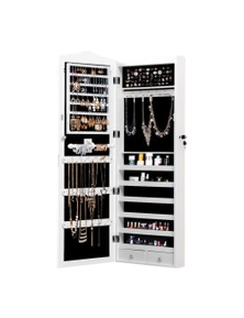 Levede Dual Use Mirror Jewellery Cabinet