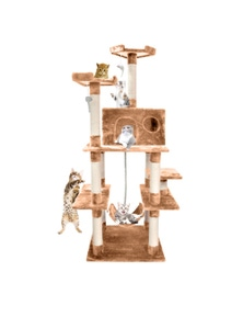 PaWz 1.83M Cat Scratching Tree Gym House