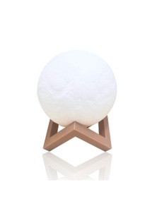 EMITTO 3D LED Moon Light with Touch Sensor
