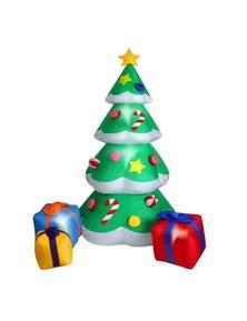 Inflatable Christmas Tree and Gift Bag