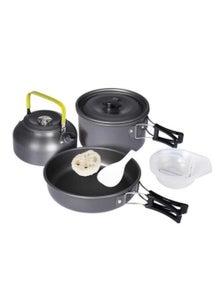 3 Pcs Camping Cooking Pots Set