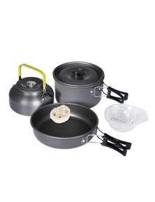 3 Pcs Camping Cooking Pots Set