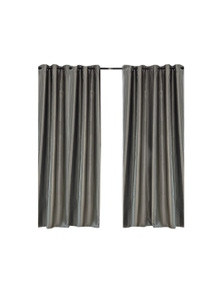 2 Pcs 140x230cm Blockout Curtain