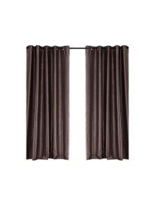 2 Pcs 140x244cm Blockout Curtain