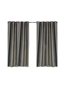 2 Pcs 180x213cm Blockout Curtain