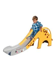 Kids Slide Yellow Giraffe Model in Yellow Colour