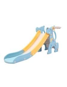 Kids Slide Blue Puppy Model