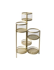 Levede Steel Plant Stand Set