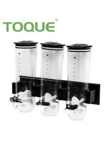 TOQUE Triple Cereal Dispenser