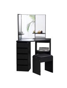 Levede Dressing Table and Stool