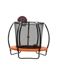 """8 """" Round Trampoline Basketball Set"""