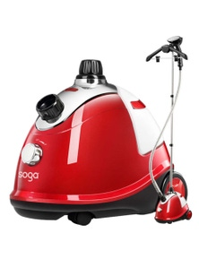 SOGA Professional Portable Steam Cleaner Red