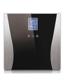 SOGA Digital Body Fat LCD Bathroom Scale Black