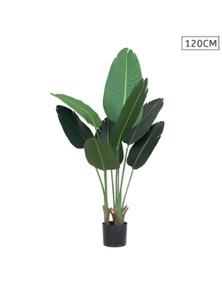 SOGA 120cm Artificial Indoor Banana Plant