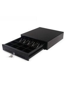 SOGA Black Heavy Duty Cash Drawer Electronic Pos 410
