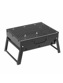 SOGA Portable Mini Folding Charcoal Grill Outdoor BBQ