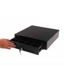 SOGA Black Heavy Duty Cash Drawer Manual Pos 410
