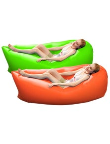Benser Fast Inflatable Bag Lazy Air Sofa 2pack