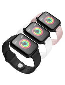 SOGA Waterproof Heartrate Monitor Fitness B57C Watch 3pack
