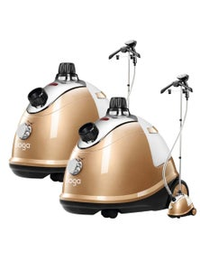 SOGA Professional Portable Steam Cleaner Gold 2pack