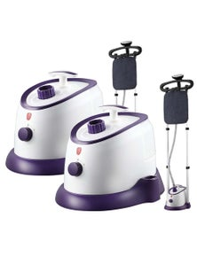 SOGA Professional Steaming Kit Twin Pole Purple 2pack