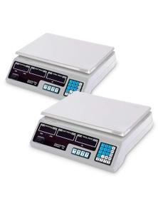 SOGA Commercial Digital Kitchen Scales 40kg/2g 2pack