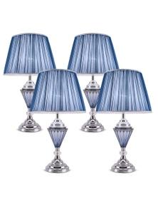 SOGA LED Elegant Table Lamp with Warm Shade Desk Lamp 4pack