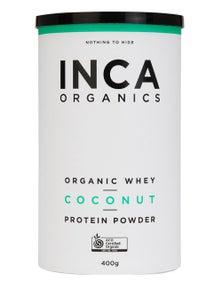 INCA Organics 400g Whey Protein Powder- Coconut
