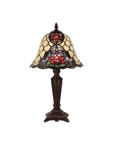 G&G Bro Alicia Tiffany Table Lamp Small
