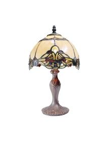 G&G Bro Benita Small Tiffany Table Lamp